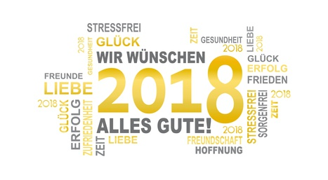WIR WÜNSCHEN ALLES GUTE - 2018