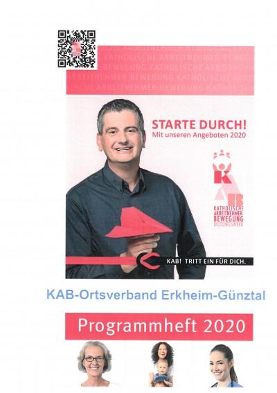 Jahresprogramm 2020 Erkheim-Günztal.
