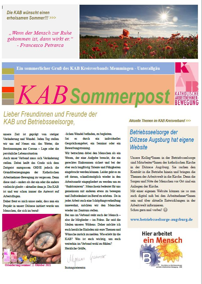 KAB_Sommerpost_Cover
